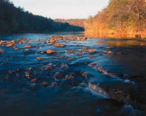 Shoals at Sprewell Bluff State Park. Photo by Richard T. Bryant. Email richard_t_bryant@mindspring.com